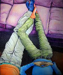 sofa y pareja