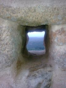 """""""des de l'ull d'un castell (sta. Coloma de Farners)"""""""