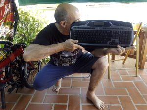 a golpe de teclado