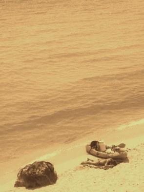 Kayac (Cala Trebaluger)